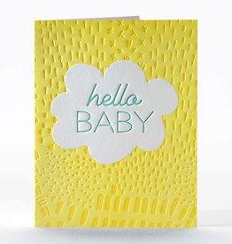 Elum Designs Sun Peak Baby Card
