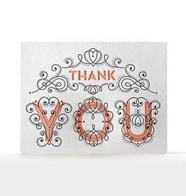 Elum Designs Fancy Thank You Card