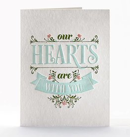 Elum Designs Hearts Are With You Card