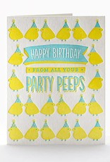 Elum Designs Party Peeps Birthday Card