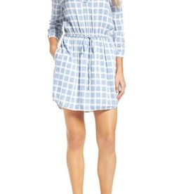 BB Dakota Daniella Plaid Shirtdress