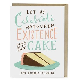 Emily McDowell Emily McDowell Card Birthday Card Celebrate with Cake