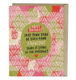 Emily McDowell Emily McDowell Card Birthday Card Internet Fabulous