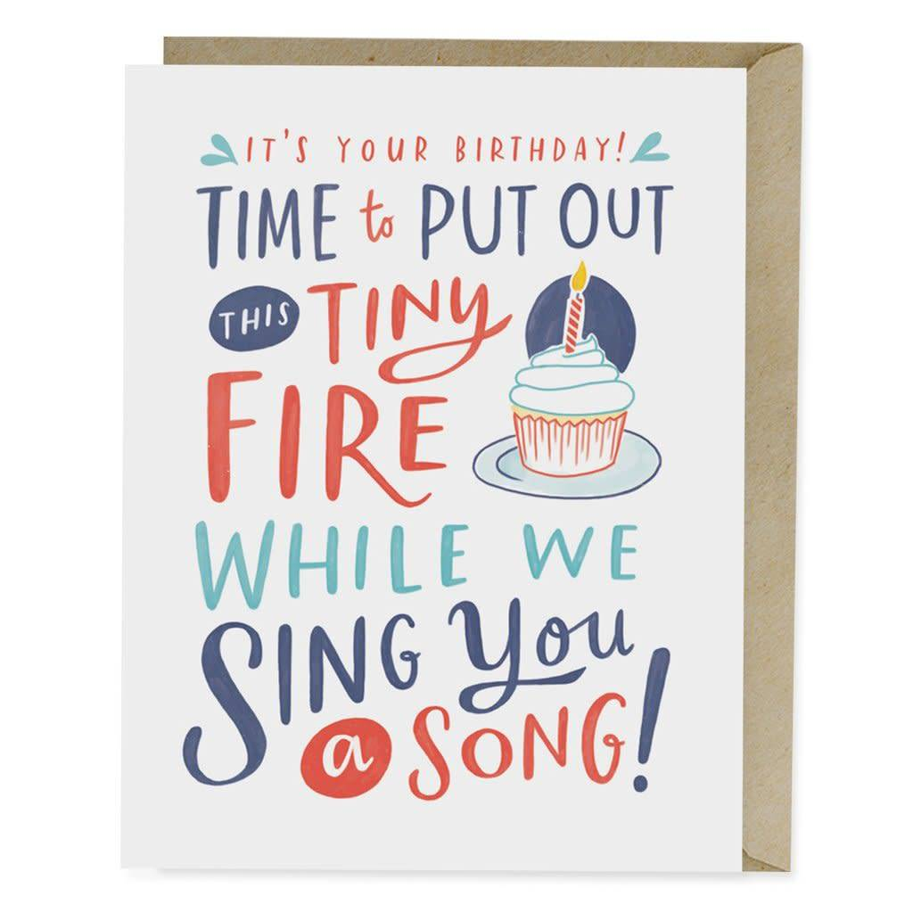 Emily McDowell Emily McDowell Card Birthday Card Put Out His Tiny Fire