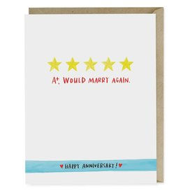 Emily McDowell Emily McDowell Card Anniversary Five Stars