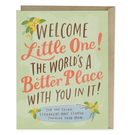 Emily McDowell Emily McDowell Card Baby The World's a Better Place