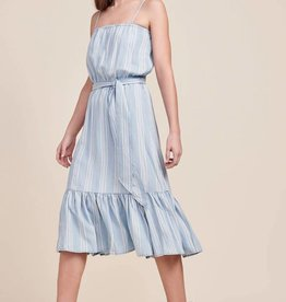 BB Dakota Tailyn Chambray Midi Dress