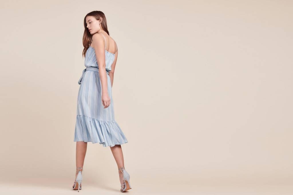 BB Dakota Tailyn Chambray Midi Dress