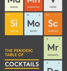 hachette Book Group The Periodic Table of Cocktails Book