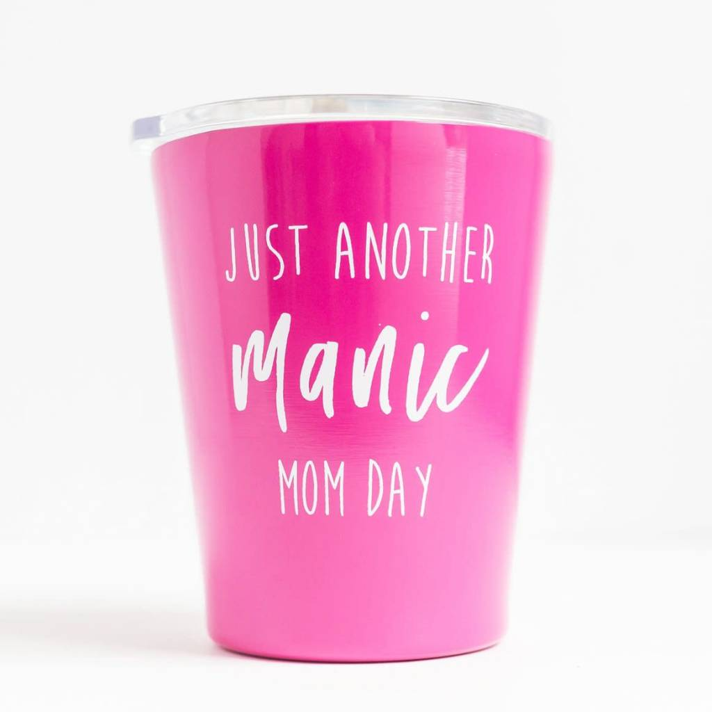 Mary Square Stainless Coffee Tumbler