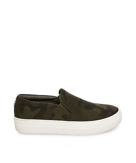 Steve Madden Gills Slip-On Sneaker in Camo