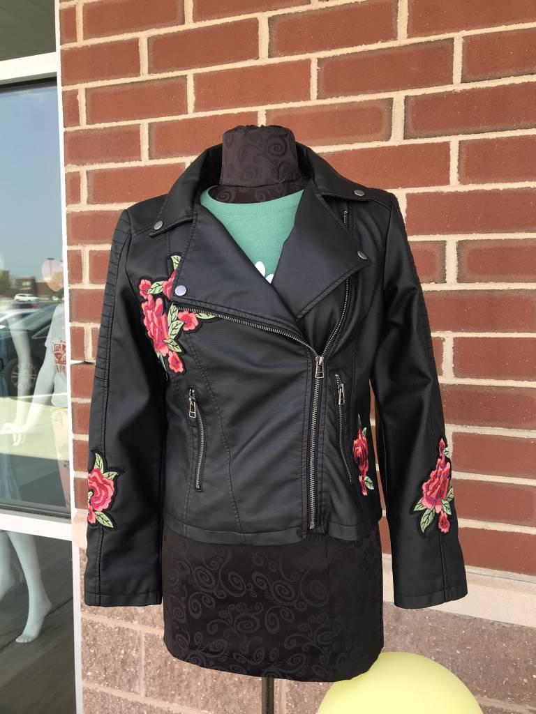 Rosey Biker Jacket