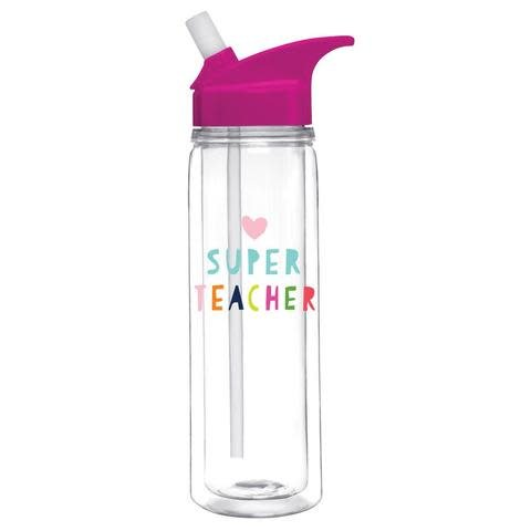 Slant Collections Loop Water Bottle 18oz - Super Teacher