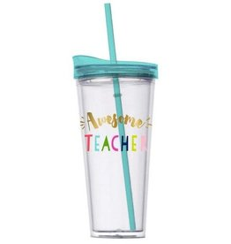 Slant Collections Hot/Cold Travel Tumbler 22oz - Awesome Teacher