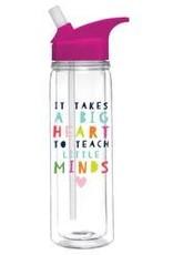 Slant Collections Loop Water Bottle 18oz - Big Heart Little MInds