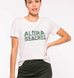 Sub_Urban Riot Aloha Beaches Loose Tee- White
