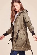 BB Dakota Flynn Nylon Anorak Jacket in Sage