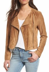 BB Dakota Allerton Suede Jacket in Whiskey