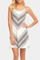 Tart Collections Harper Dress in Open Chevron
