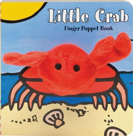 Chronicle Little Crab Finger Puppet Book bb