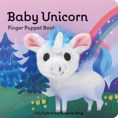 hachette Book Group Finger Puppet:  Baby Unicorn
