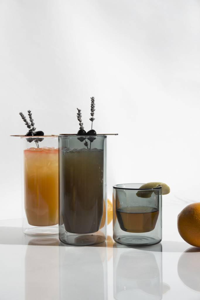 Yield 16oz Double Wall pint Glasses by yield design co