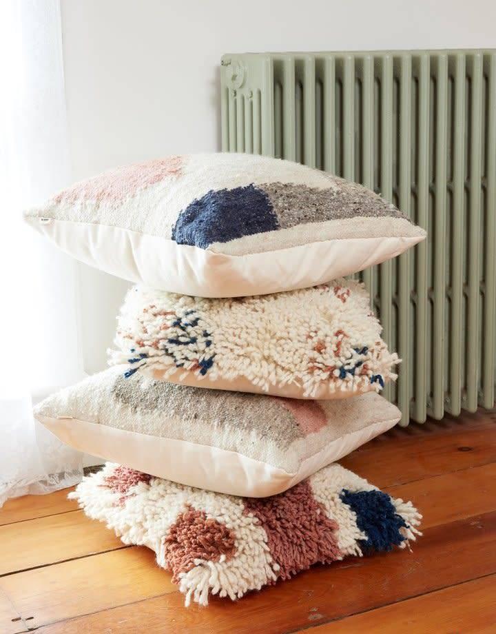 Minna Antigua Shag Pillow by minna