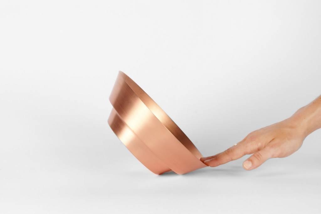 """Yield 8"""" Spun Copper Bowl by yield design co"""