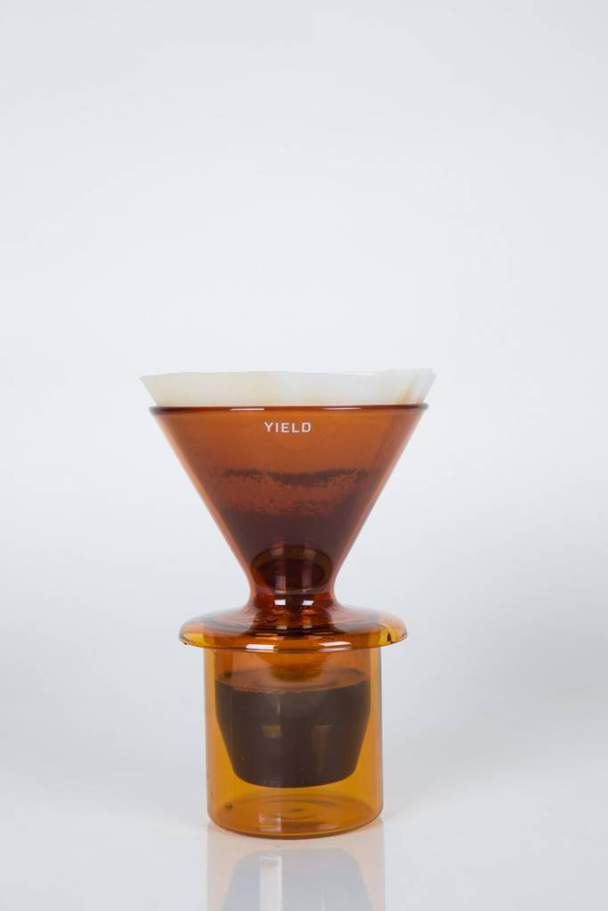 Yield Glass Double Wall Pour Over by yield design co