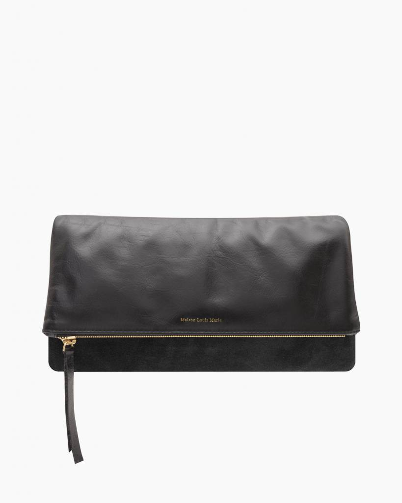 Maison Louis Marie La Pochette Leather Clutch