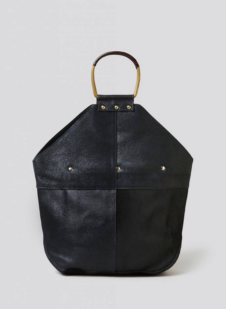 Rachel Comey Rachel Comey Holden Bag: Black Distressed Leather