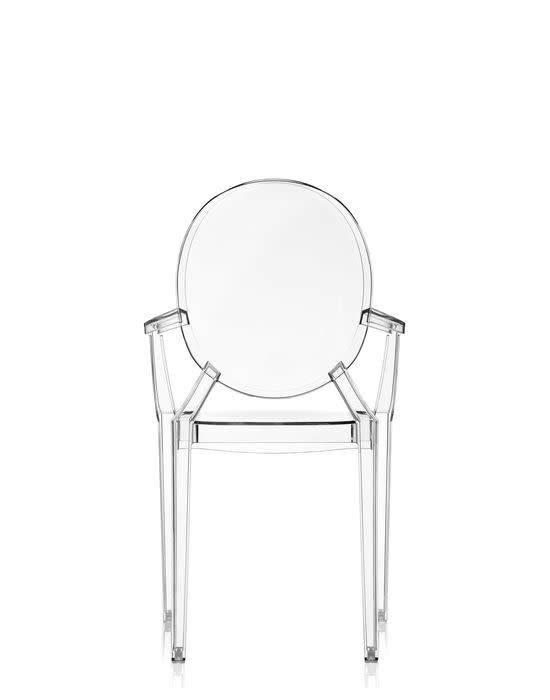 Kartell Louis Ghost Chair in Crystal - Now or Never