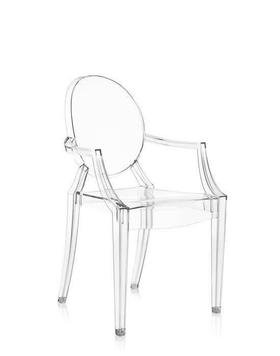 Kartell Kartell Louis Ghost Chair In Crystal ...