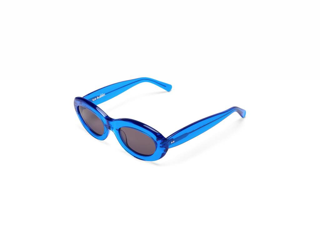 Sun Buddies Courtney Sunglasses in Silicon Valley Blue