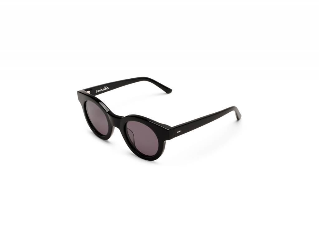 Sun Buddies Edie Sunglasses in Black