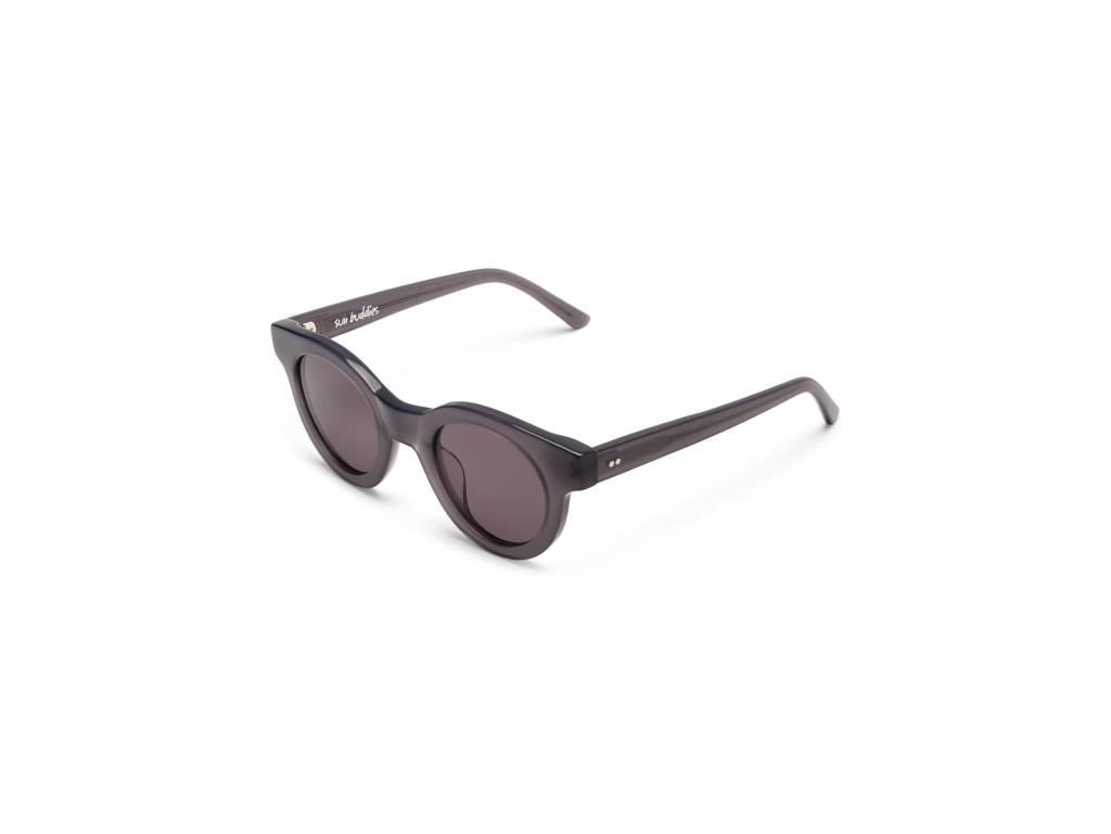 Sun Buddies Edie Sunglasses in Milky Grey