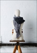 Linen and Leather Scarf