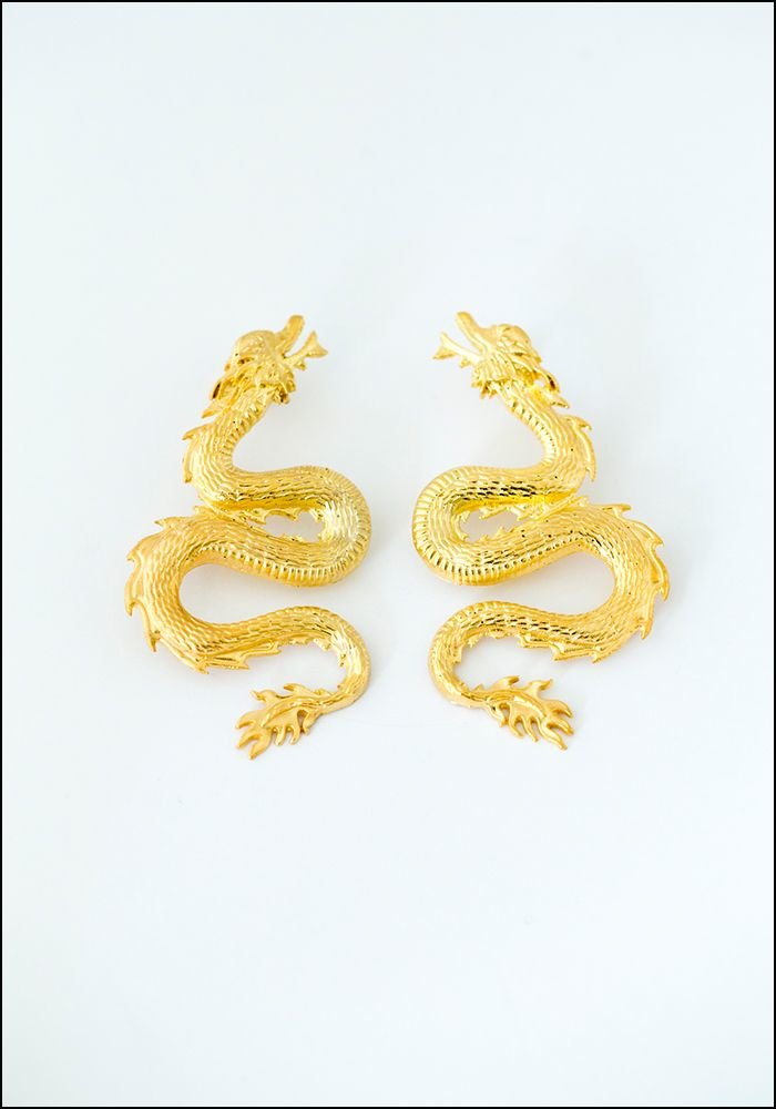 Dragon Earrings