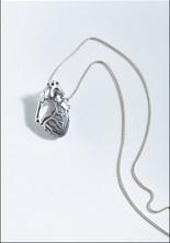 Peggy Skemp Anatomical Human Heart Locket