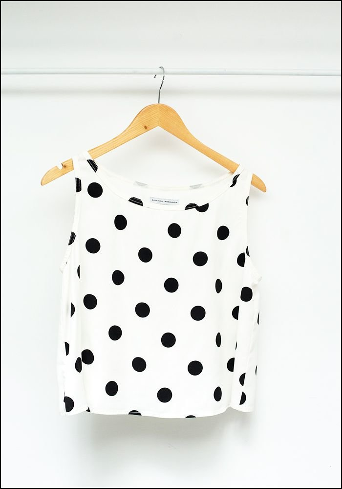 Polka Dot Top 535