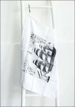Serie Limitee Louise French Linen Tea Towel