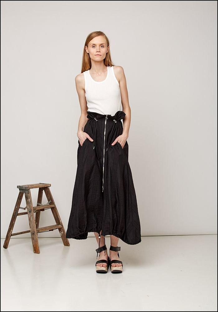 Toggle Zip Skirt