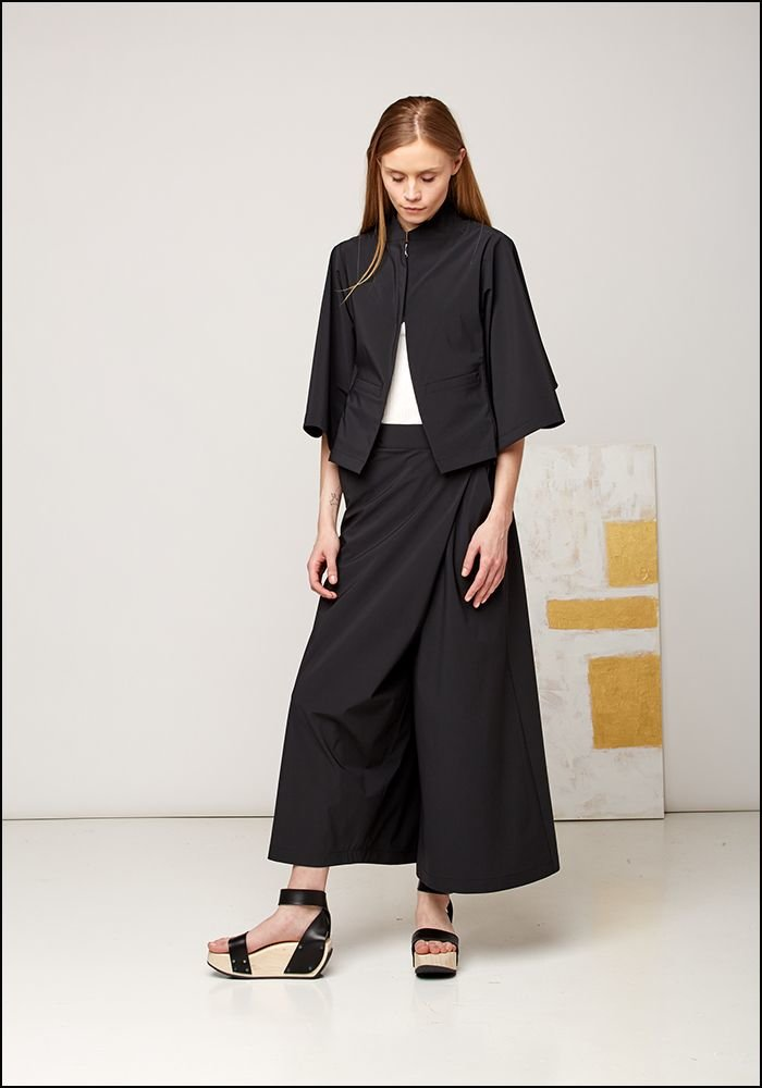Wide Leg Crossover Pant 3S02010