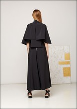 Wide Leg Crossover Pant