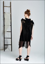 Leather Sting Dress