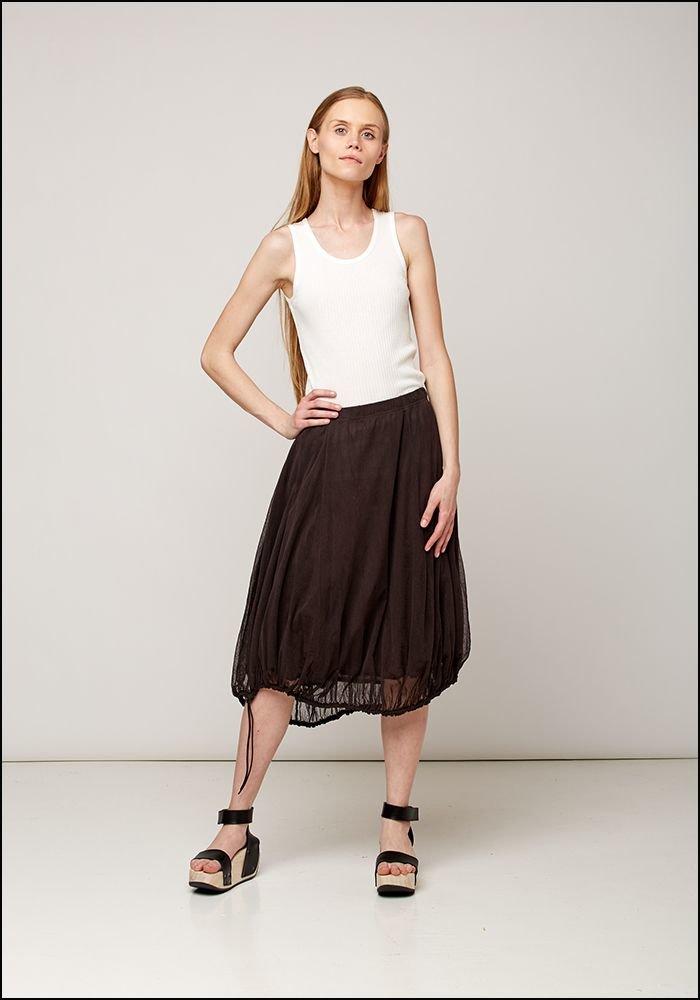 Mesh Layering Skirt 2550309