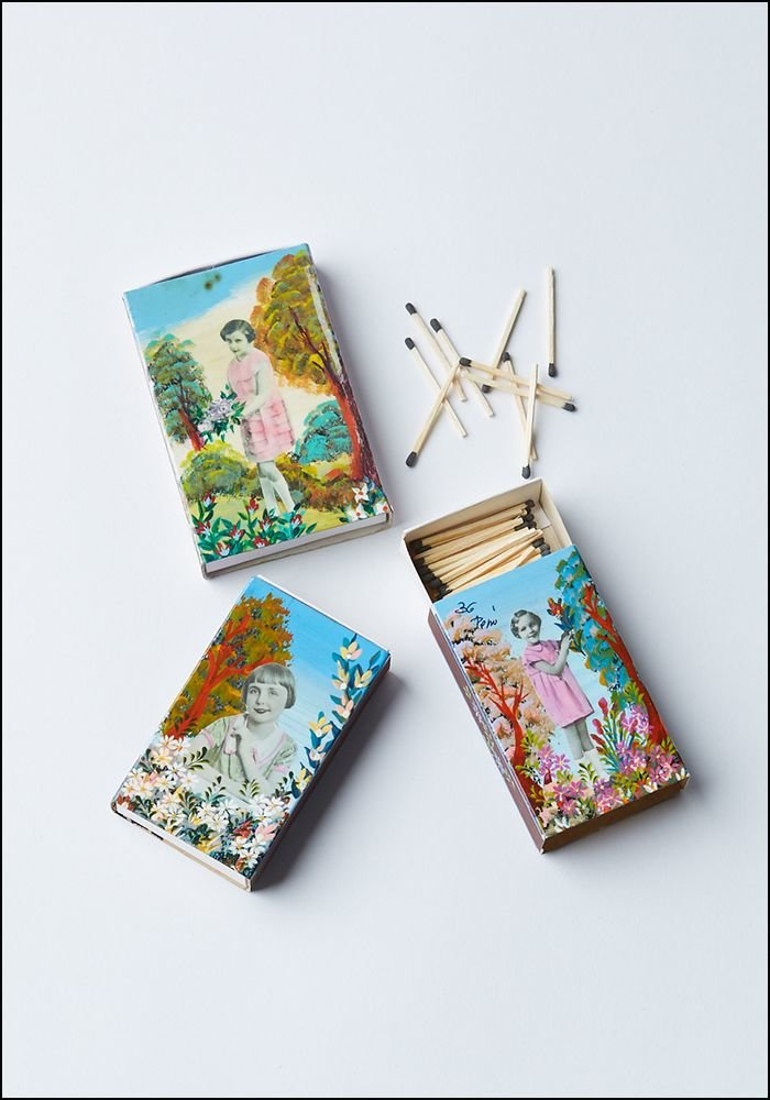 Handpainted Matches