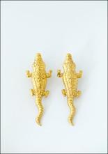 Crocodile Earrings