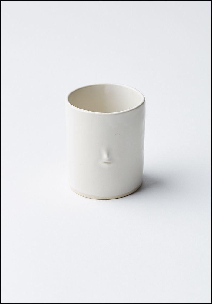 Rami Kim Tiny Face Ceramic Tumbler