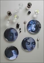 Ibride White Yuan Four Plate Set